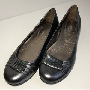 Naturalizer Hollie Pewter Flat - New